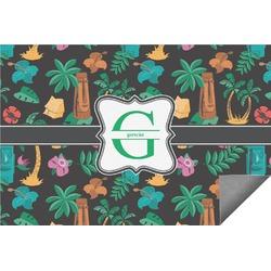 Hawaiian Masks Indoor / Outdoor Rug (Personalized)