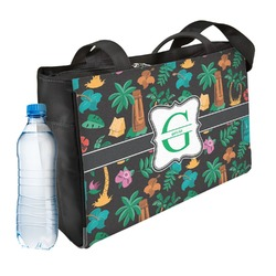 Hawaiian Masks Ladies Workout Bag (Personalized)