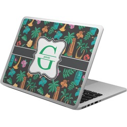 Hawaiian Masks Laptop Skin - Custom Sized (Personalized)