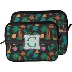 Hawaiian Masks Laptop Sleeve / Case (Personalized)