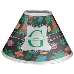 Hawaiian Masks Coolie Lamp Shade (Personalized)