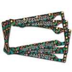 Hawaiian Masks License Plate Frame (Personalized)