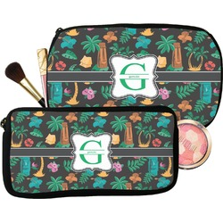 Hawaiian Masks Makeup / Cosmetic Bag (Personalized)