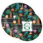 Hawaiian Masks Melamine Plate (Personalized)