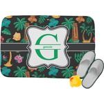 Hawaiian Masks Memory Foam Bath Mat (Personalized)