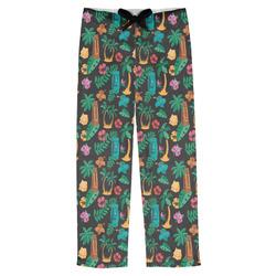 Hawaiian Masks Mens Pajama Pants (Personalized)