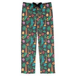 Hawaiian Masks Mens Pajama Pants (Personalized)