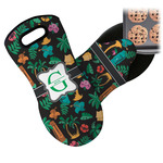 Hawaiian Masks Neoprene Oven Mitt (Personalized)