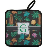 Hawaiian Masks Pot Holder (Personalized)