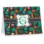 Hawaiian Masks Note cards (Personalized)