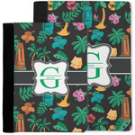 Hawaiian Masks Notebook Padfolio w/ Name and Initial