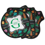 Hawaiian Masks Iron on Patches (Personalized)