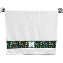 Hawaiian Masks Bath Towel (Personalized)