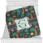 Hawaiian Masks Blanket (Personalized)