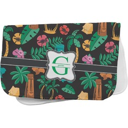 Hawaiian Masks Burp Cloth (Personalized)
