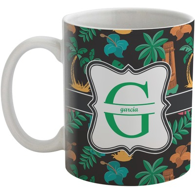 Hawaiian Masks Coffee Mug (Personalized)