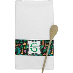 Hawaiian Masks Kitchen Towel (Personalized)