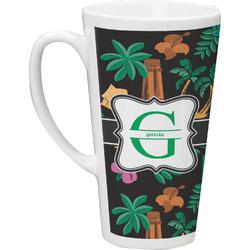 Hawaiian Masks Latte Mug (Personalized)