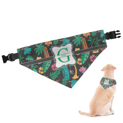Hawaiian Masks Dog Bandana (Personalized)
