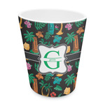 Hawaiian Masks Plastic Tumbler 6oz (Personalized)