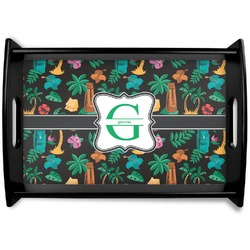 Hawaiian Masks Wooden Trays (Personalized)