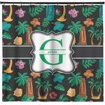 Hawaiian Masks Shower Curtain (Personalized)