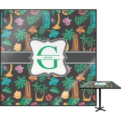 Hawaiian Masks Square Table Top (Personalized)