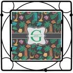 Hawaiian Masks Trivet (Personalized)