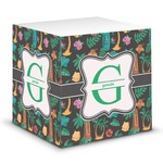 Hawaiian Masks Sticky Note Cube (Personalized)