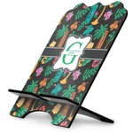 Hawaiian Masks Stylized Tablet Stand (Personalized)