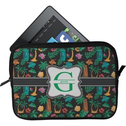 Hawaiian Masks Tablet Case / Sleeve (Personalized)