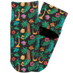 Hawaiian Masks Toddler Ankle Socks (Personalized)