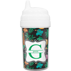 Hawaiian Masks Sippy Cup (Personalized)