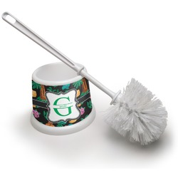Hawaiian Masks Toilet Brush (Personalized)