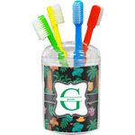 Hawaiian Masks Toothbrush Holder (Personalized)
