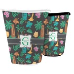 Hawaiian Masks Waste Basket (Personalized)