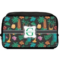 Hawaiian Masks Toiletry Bag / Dopp Kit (Personalized)