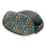 Hawaiian Masks Travel Neck Pillow