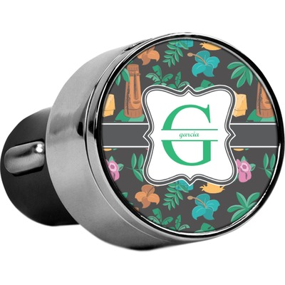 Hawaiian Masks USB Car Charger (Personalized)