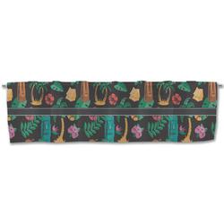 Hawaiian Masks Valance (Personalized)