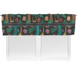 Hawaiian Masks Valance (Personalized)