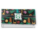 Hawaiian Masks Vinyl Checkbook Cover (Personalized)