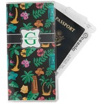 Hawaiian Masks Travel Document Holder
