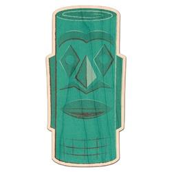 Hawaiian Masks Genuine Wood Sticker (Personalized)
