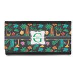 Hawaiian Masks Leatherette Ladies Wallet (Personalized)
