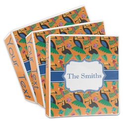 Toucans 3-Ring Binder (Personalized)