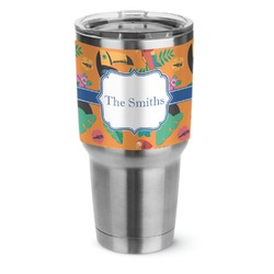 Toucans Stainless Steel Tumbler - 30 oz (Personalized)