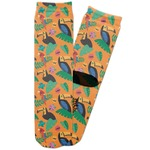 Toucans Adult Crew Socks (Personalized)