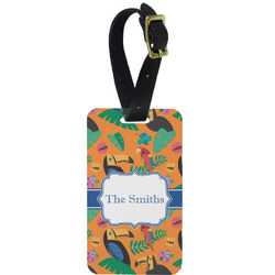 Toucans Aluminum Luggage Tag (Personalized)