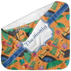 Toucans Baby Hooded Towel (Personalized)